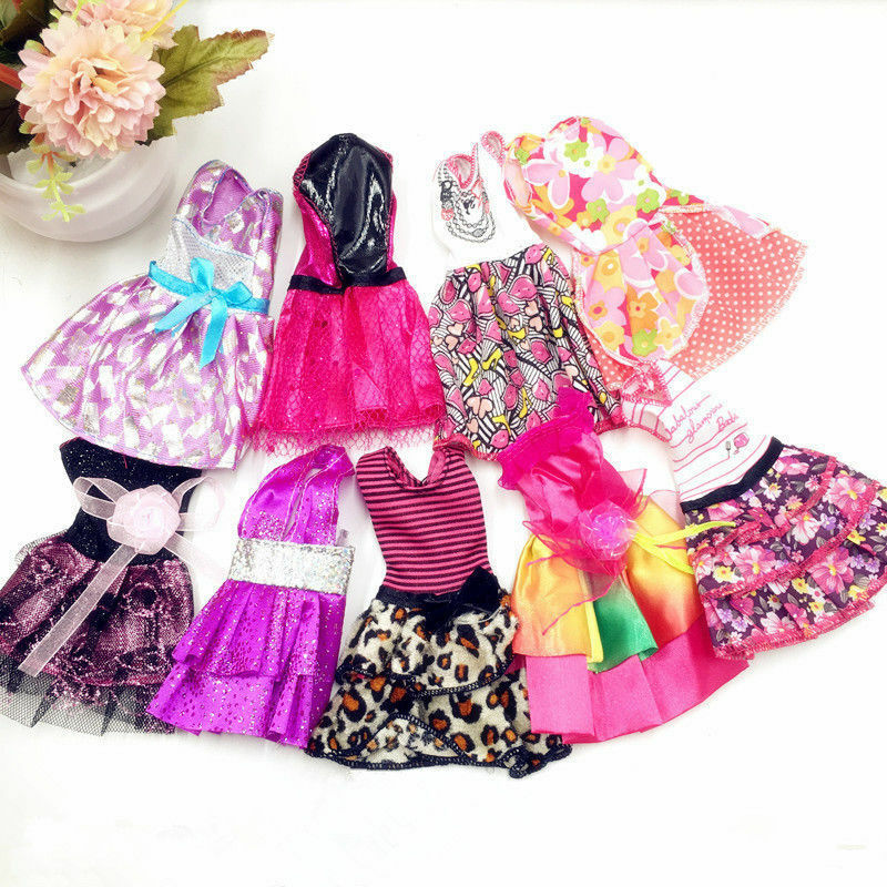 "10Pcs Lot Beautiful Handmade Dresses Clothes For 11"" Doll Style Random 2"