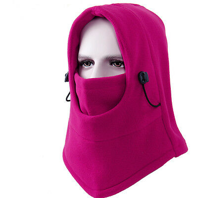 Warm Winter Hat Face Mask Cap Thermal Fleece for Ski Bicycle Snowboard  LBR