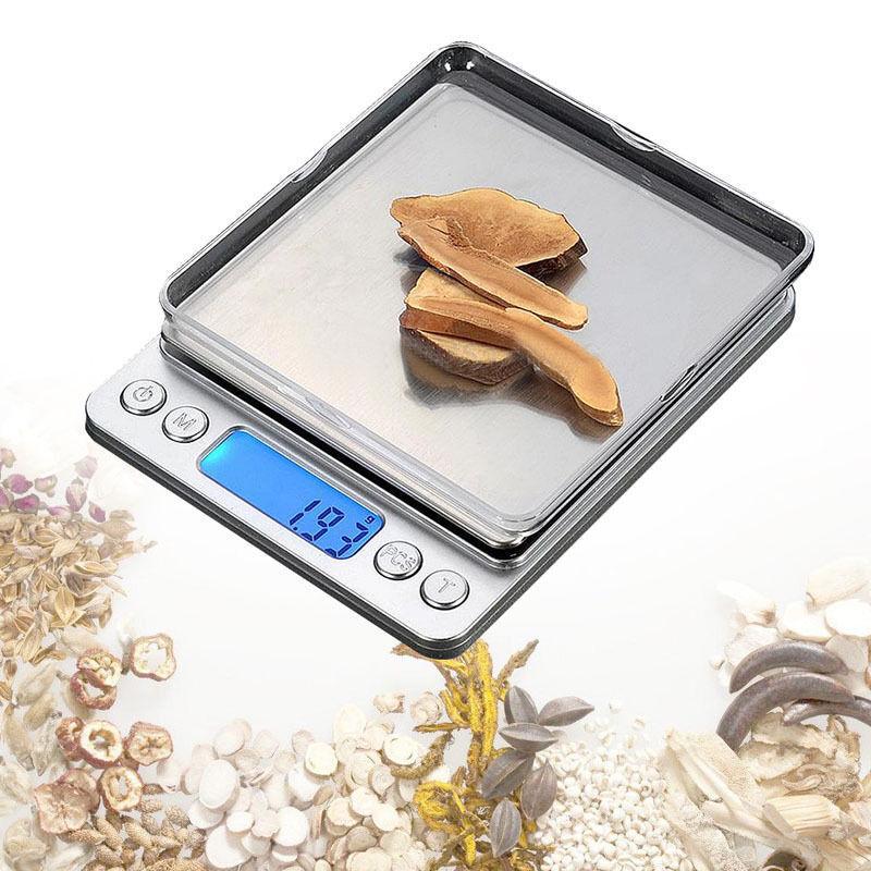200g/500g/3000g 0.01g 0.1g LCD Digital Pocket Scale Jewelry Gold Gram 5