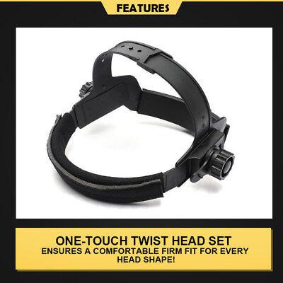 New Solar Auto Darkening Welding Helmet Mask ARC TIG MAG High Quality AU 7