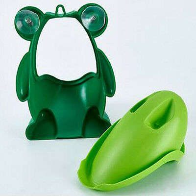 HOT Frog Kids Potty Toilet Training Baby Urinal for Boy Pee Trainer Bathroom New 7
