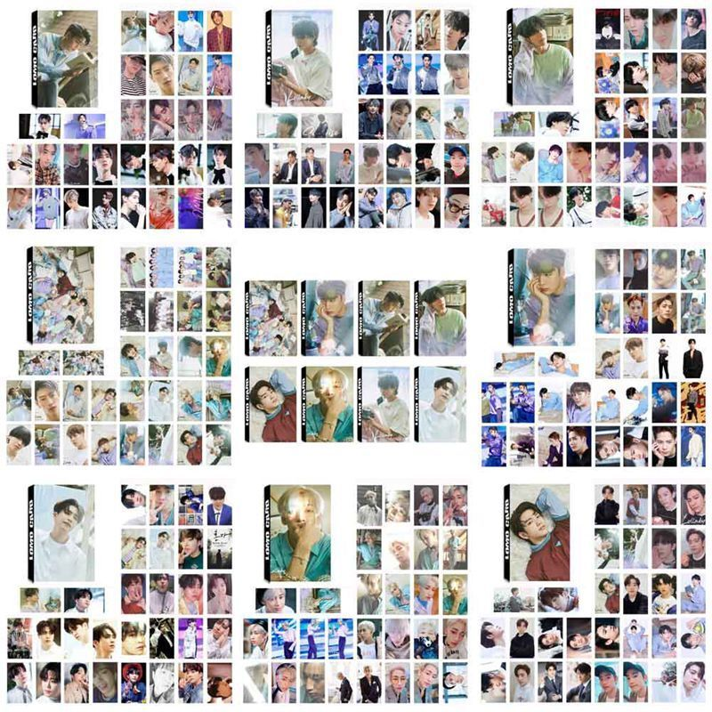 30pcs KPOP GOT7 Album Present:YOU Photo Card Lullaby Self Made Lomo Cards New 2