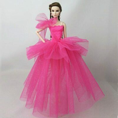 Fashion Costume Clothes For 11.5in. Doll Dress Party Dresses Outfits 1/6 Doll 10