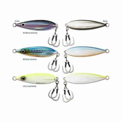 4 Pack Shimano Butterfly Flat-Fall Jigs-Sinking Flat Fall-Free Expedited Ship