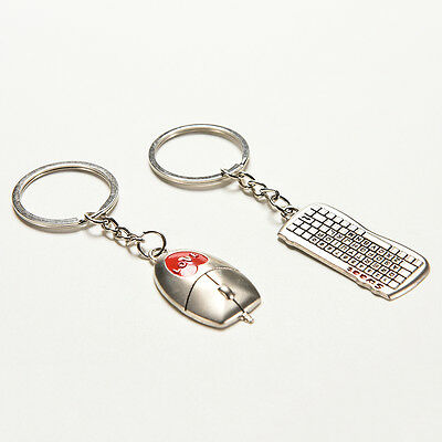 Variety Creative Keychain 3D Metal Key Ring Key Chain 20 Patterns For Gift S/&K