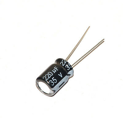 35V Electrolytic Capacitor 22-100-220-330-470-1000-1500-2200-3300-4700-6800 uF