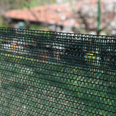 Telo rete ombreggiante Alta schermatura 90% oscurante verde frangisole Papillon 5