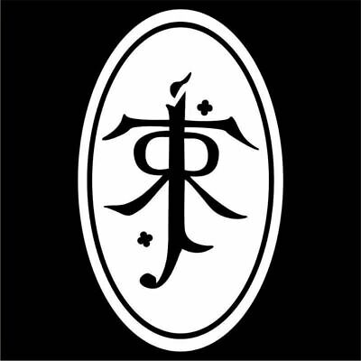 J.R.R. Tolkien Decal / Sticker - Choose Size & Color - Lord of the Rings, Hobbit 2