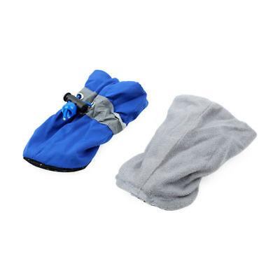 4Pcs/set Dog Boots Shoes Anti Slip Waterproof Puppy Rain Pet Small Cat Pet Socks 8
