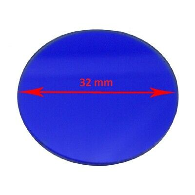 Microscope Blue Color Filter 45 42 35 32 mm Diameter for Biological Microscope 2