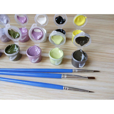 Various Art Paint By Number Kit DIY Acrylic Oil Painting On Canvas Linen Decor 5