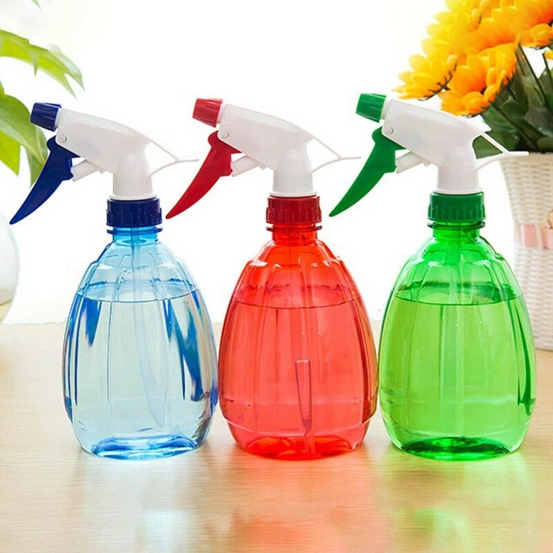 500ml Water Spray Bottle Plastic Gardening Plant Pet Cleaning Random Color 1PC 3