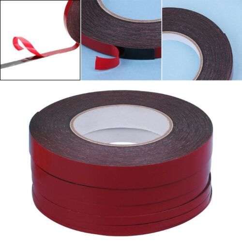 3-20mm 25m Double Sided Adhesive Tape Red Stickers For Mobile Phone LCD Screen 2