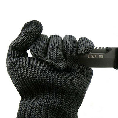 Personal Protection Cut-resistant Gloves Safe Security Self Defense 1 Pair Black 5