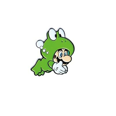Super Mario Bros 3 Collector Pin - Frog Mario - Switch 3DS Wii U Snes NES  2 2