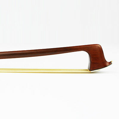 High quality! 4/4 Size Advanced Pernambuco performance Violin Bow Snakewood Frog 7