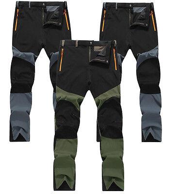 New Fashion Mens Women Trousers Rain Pants Motorcycle Fishing Hiking 3