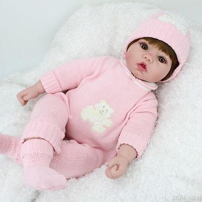10 of 11 20 handmade reborn newborn dolls christmas gifts vinyl silicone baby girl doll