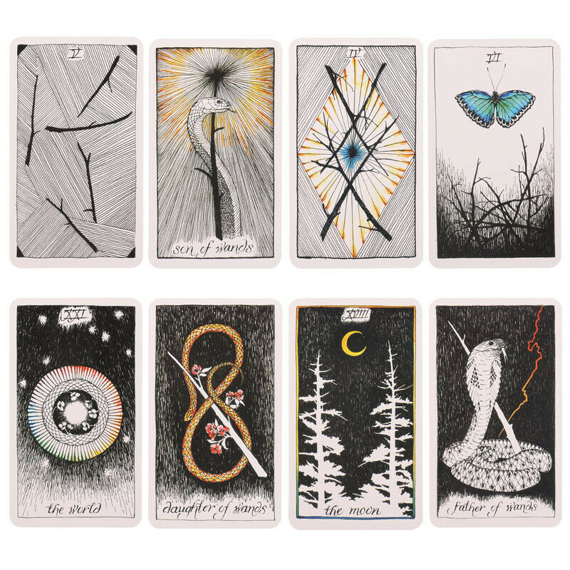 The Wild Unknown Tarot Cards Deck Rider-Waite Oracle Fortune Telling Card Gifts 2