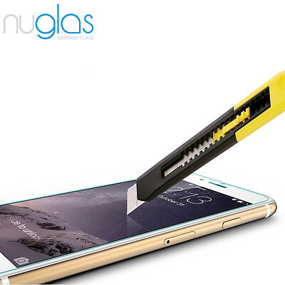 2x Nuglas Tempered Glass Screen Protector For iPhone XS Max X 8 7 6 6S Plus 8