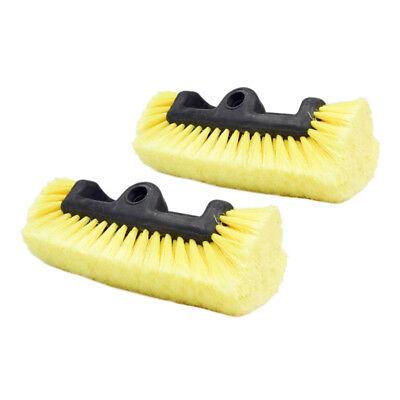 Carcarez Car Wash Brush Head Super Soft Heavy-Duty Bristle Clean Truck SUV 9
