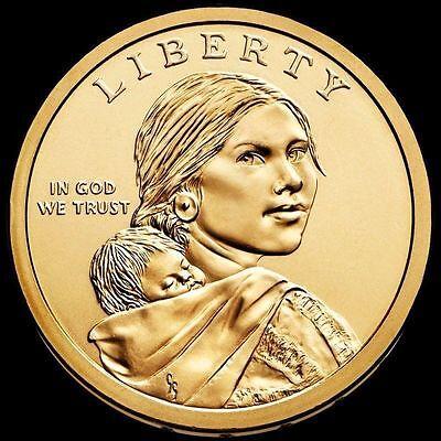 2019 P&D NATIVE AMERICAN Sacagawea SPACE Program Dollar 2 Coin set - PRESALE