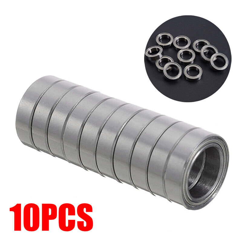 6700ZZ 10*15*4mm Deep Groove Metal Double Shielded Ball Bearing Thin Wall Roller 2