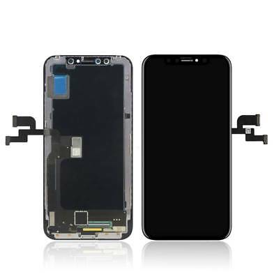 Ecran Lcd Oled Retina Vitre Tactile Assemblé Sur Chassis Pour Iphone X/10 Noir 3