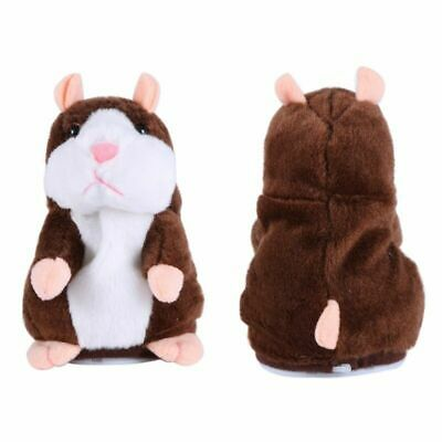 Talking Hamster Plush Toy Lovely Speaking Sound Record Repeat Kids Toy Cute Gift 11