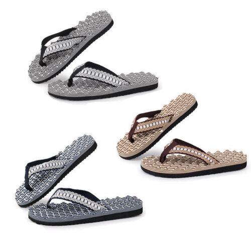 47b9c09f87b Mens Boy Shoes Beach Home Flip Flops Summer Casual Sandals Massage Slippers  2018 3 3 of 9 ...