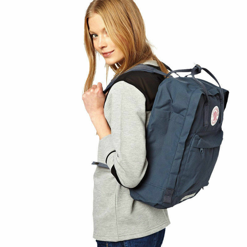 Fjallraven Re Kanken Mini Unisex Rucksack 20L/16L/7L Waterproof Sport Backpack 8