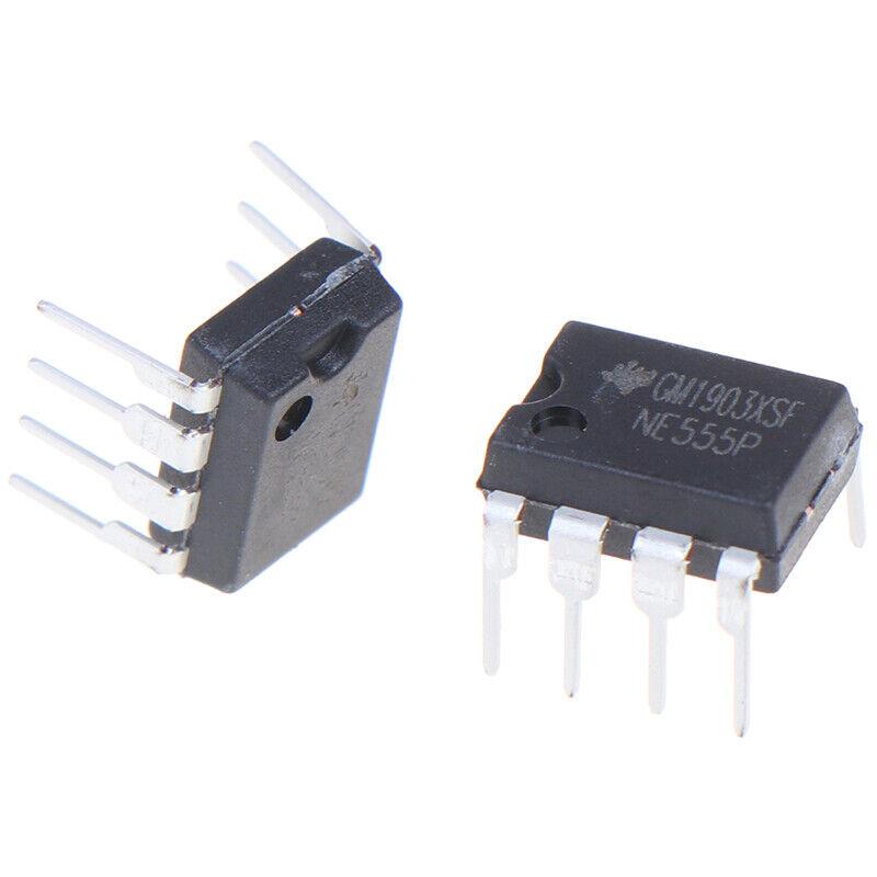 10PCS NE555P DIP-8 original IC time base circuit single high precision timer G3 7