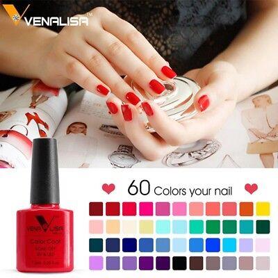 CANNI Venalisa Nail Gel Art Design Manicure 7.5Ml Soak Off Enamel Polish LED UV 8