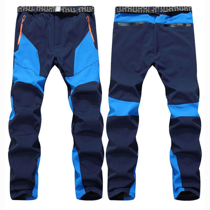 Men's Waterproof Warm Snow Ski Snowboard Pants Outdoor Hiking Climbing Trousers 2