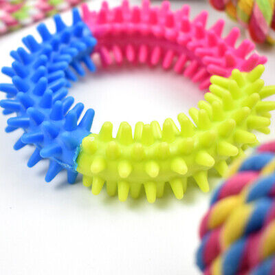 Dog Puppy Toy Rope Xmas Christmas Bundle And Teeth Cleaning Cotton Rope Toys 7