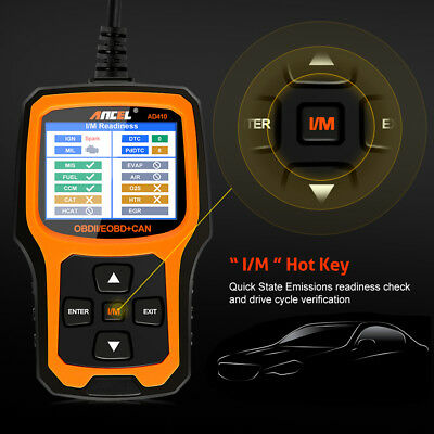 Ancel OBD2 EOBD Car Fault Code Reader Scanner Diagnostic Auto Engine Scan Tool 3