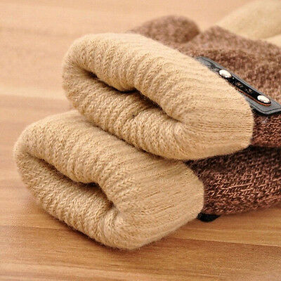Fashion Kids Winter Gloves Boys Warm Knitted Mittens Full Finger Magic Glove 6