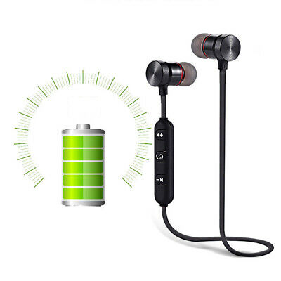 Magnet Wireless In-Ear Sports Earphone Headset Headphone For iPhone Samsung 6