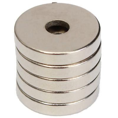 5/10/20/50 Stück N52 Neodym Supermagnete Runde Scheiben Magnet 15x3mm Loch 4mm