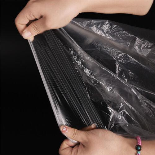 C7AD 10pcs Car Disposable Plastic Transparent Seat Protective Covers Workshop Ga