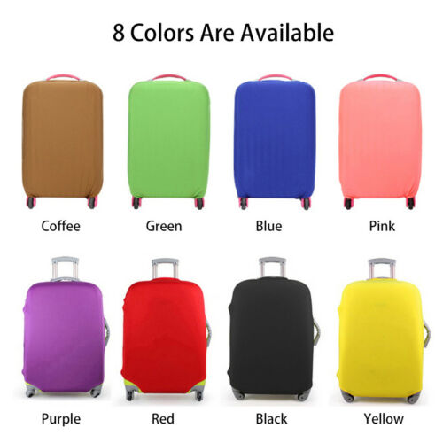 NEW Elastic Luggage Suitcase Dust Cover Dustproof Protector Anti Scratch Travel 2