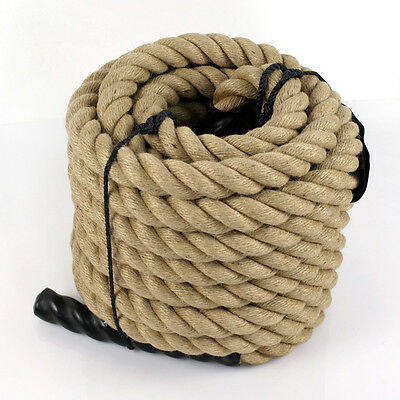 Fitness Climbing Manila Rope Boat  Twisted Heavy Duty Exercise 1-1//2 inch.x50ft