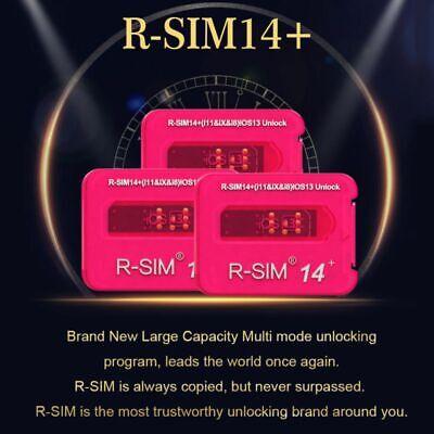 R-SIM15/RSIM14+ Nano Unlock RSIM Card for iPhone 11 Pro Max Support iOS13 LOT US 12