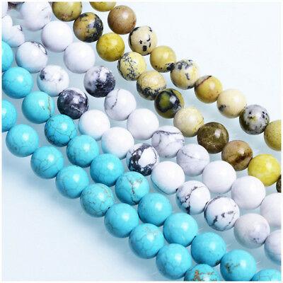 Wholesale Natural Gemstone Round Spacer Loose Beads For Bracelets Jewelry Making 11