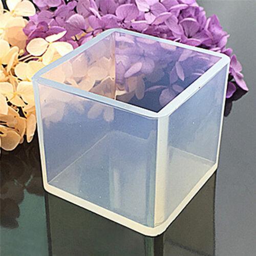 Silicone Pendentif Moule Bijoux Fabrication Cube Résine Casting Outild'Artisa FE 4