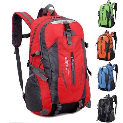 Men's Waterproof Backpack Rucksack Hiking Camping Trekking Bag School Bag Pack 7