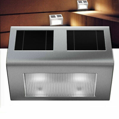 Security Super Bright Solar Powered LED Outdoor Wall Lights Shed Garden Lighting 3