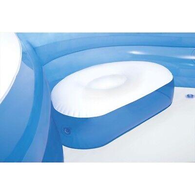Intex piscina gonfiabile 4 sedili porta bevande nuoto famiglia 56475 Nuovo Rotex 6