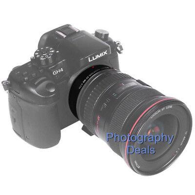 Viltrox EF-M2 II AF Adapter Focal Reducer Booster For Canon EF Lens to M43 MFT 8