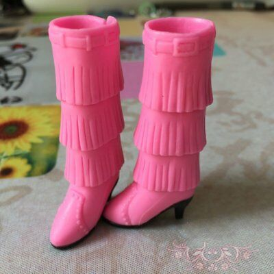 Fashion High Heel Shoes For Blyth Dolls 1/6 Fashion Boots For Licca Doll Shoes 4